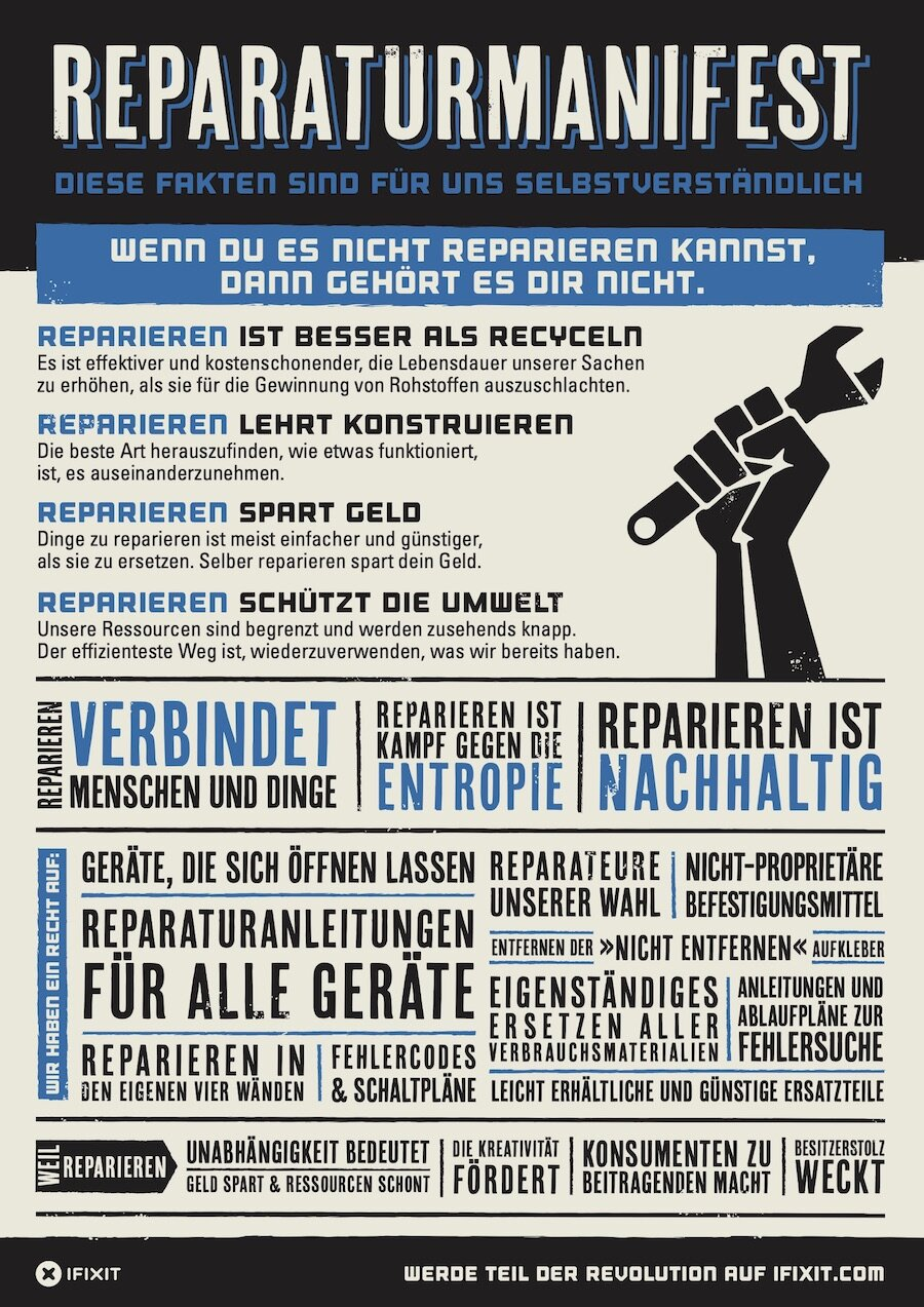 iFixit's self-repair manifesto