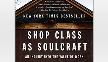 Matthew CrawfordさんによるShop Class as Soulcraft