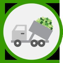 Landfilling creates > 1 job