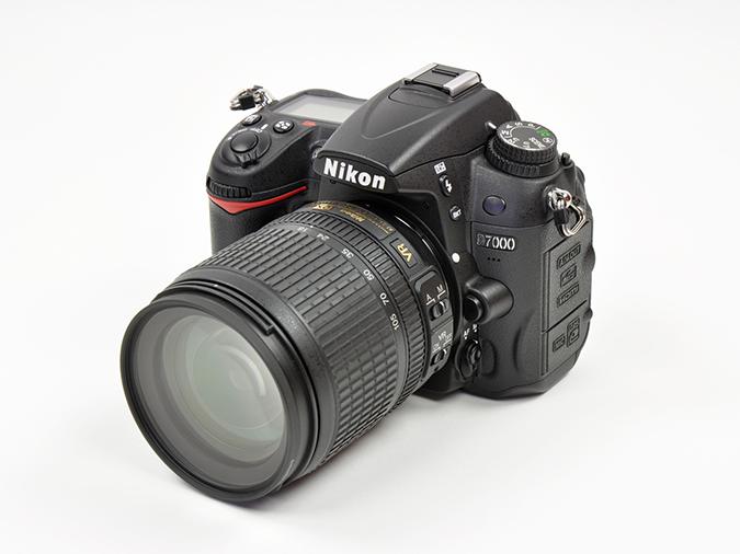 A digital camera.